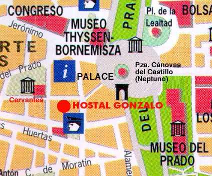 hostal gonzalo madrid: